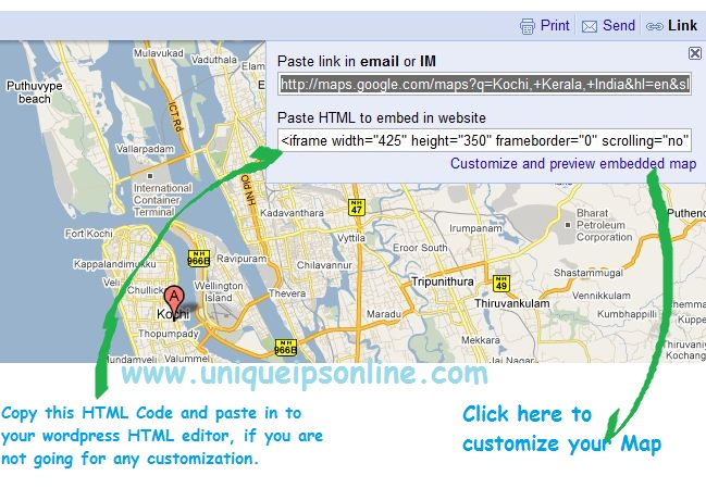 Google-Maps-to-Wordpress