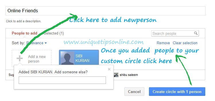 Google-Circles-with-oneperson