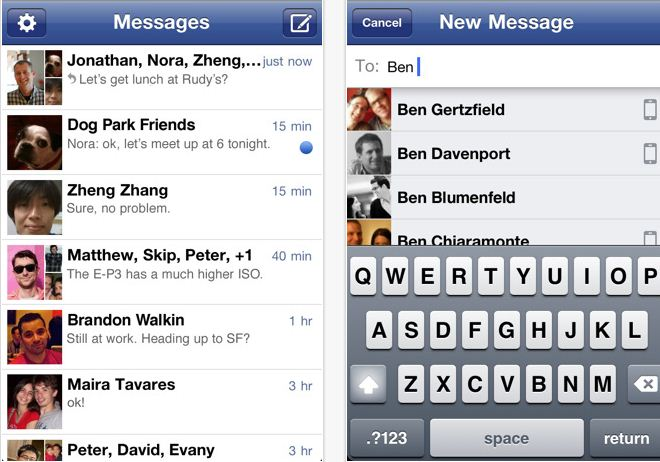 Facebook-Messenger-for-iPhone