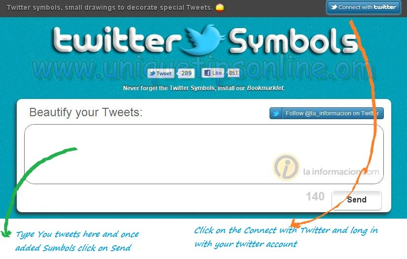 How To Add Symbols To Your Twitter Tweets