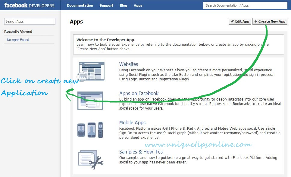 Facebook-Developer-Page