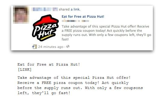 Eat For Free At Pizza Hut
