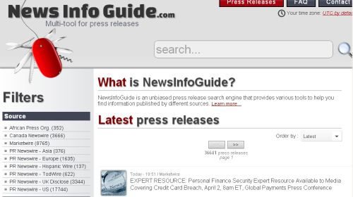 News Info Guide